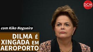 Covardes que agrediram Dilma são os mesmos que aplaudiram incêndio na Favela