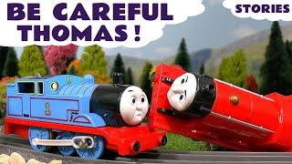 Thomas and Friends Train Toys for Kids Toy Accident Stories - Be Careful Thomas - ToyTrains4u