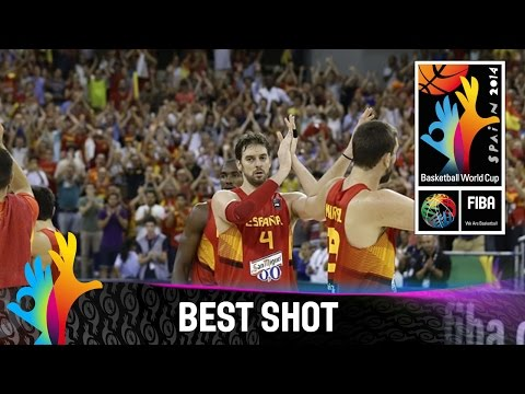 Brazil v Spain - Best Shot - 2014 FIBA Basketball World Cup