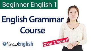 English Grammar Course For Beginners: Basic English Grammar