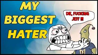 I MET MY BIGGEST HATER!