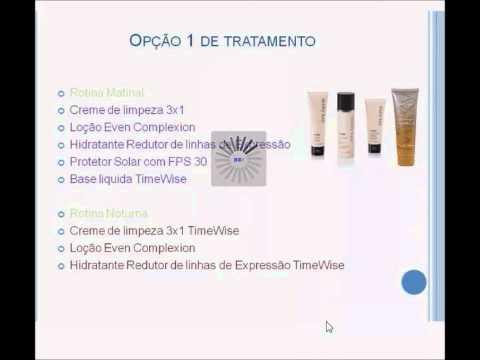 Tratamento para pele com mancha