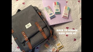 BACK TO SCHOOL HAUL! 2019