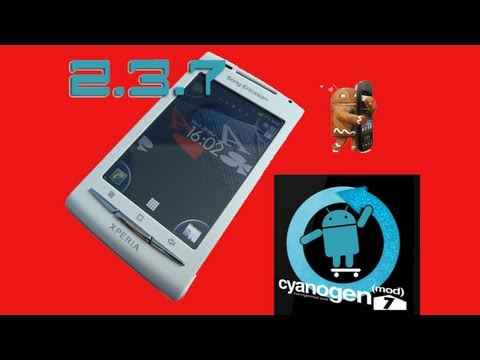 How to install Android 2.3.7 on Sony Ericsson X8