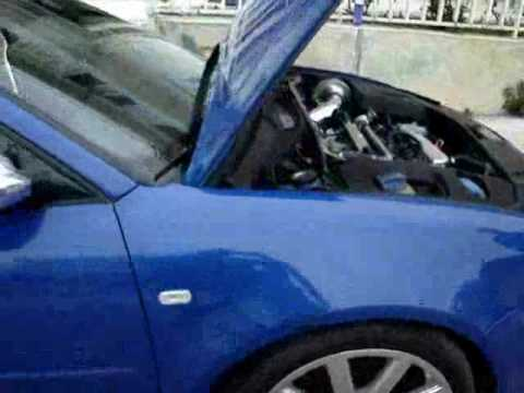 AUDI S3 500HP chrome engine Video