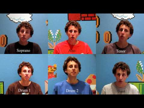 Super Mario Bros Theme Song Acapella Multitrack