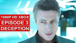 Quantum Break Gameplay Walkthrough Part 12 [1080p HD Xbox One] Episode 3 Deception- No Commentary
