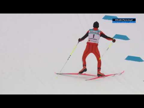 Adrian Solano - Worst cross country skier ever?