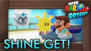 What If Super Mario Odyssey Had Shines from Mario Sunshine?