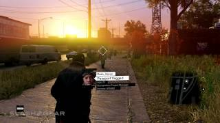 Watch Dogs hacking: phones gameplay