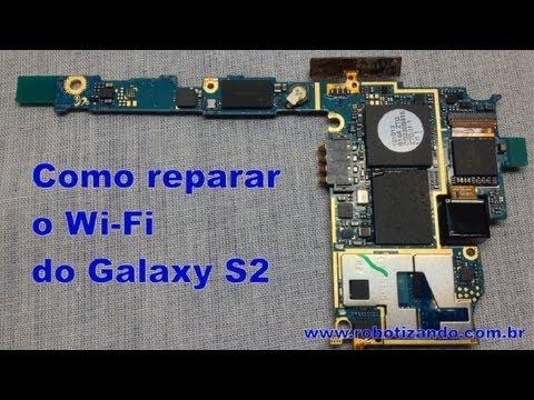 Como consertar o módulo wi-fi do Samsung Galaxy S II
