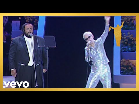 Eurythmics, Luciano Pavarotti - There Must Be An Angel Playing With My Heart Live