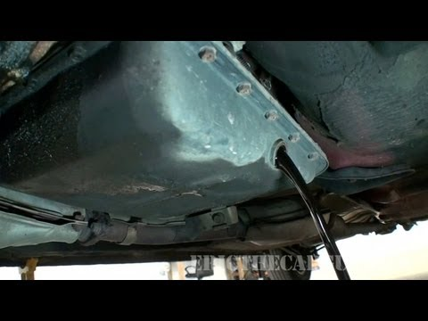 Changing Automatic Transmission Fluid and Filter. 1997 Subaru Legacy (Part 1) - EricTheCarGuy