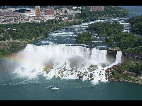 Niagara Falls  Ниагарский водопад  chutes du Niagara HD