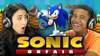 SONIC UNFAIR (Teens React: Gaming)