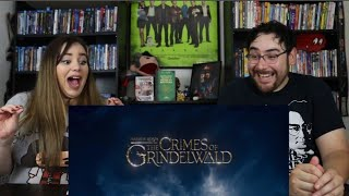 Fantastic Beasts THE CRIMES OF GRINDELWALD - SDCC Official Trailer Reaction / Review