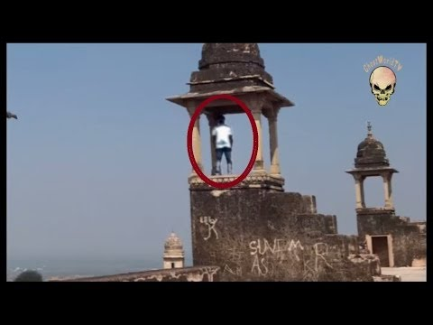 Ghost Caught On Tape In Gwalior Fort, India: Real Ghost Activity Caught On Camera video