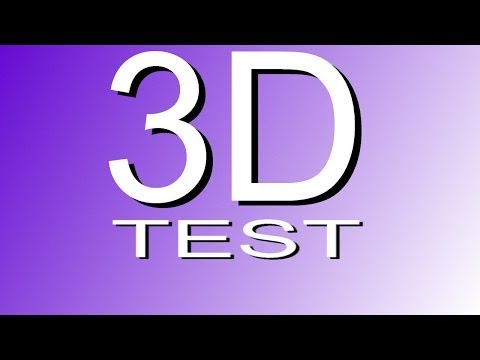 3D VIDEO SMART TV TEST UPLOAD 4K Video 2160p 1080p