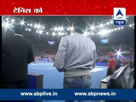 Aamir, Deepika Sunil Gavaskar play Tennis with Sania and Federer