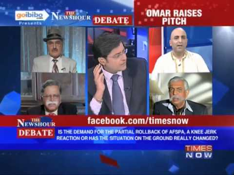 The Newshour Debate: Why the demand for partial roll back of AFSPA? (The Full Debate)