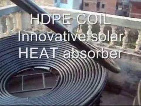 DIY Solar Water Heater Innovation an emerging passion in green for 70$