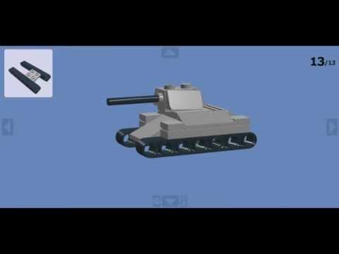 Как сделать легкий лего танк FunnyCat.TV
