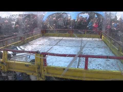 Robot Wars Santa Pod – Toon Raider vs Meggamouse