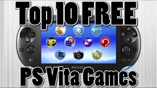 Top 10 Free PS Vita Games of All Time | PS Vita Giveaway (Active)