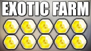 Destiny 2 - HOW I FARM MY EXOTIC ENGRAMS !!!