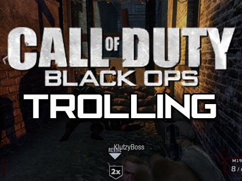 Black Ops Zombies Trolling 5 - Trolling a Cheater!  (ft. Straight Up Knives)