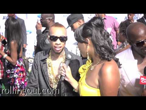 Young Money's TYGA talks about releasing a Sex Tape at BET AWARDS 2011!!