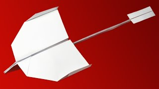 How to make the BEST PAPER AIRPLANE in the world - good paper airplanes that FLY FAR | Martin