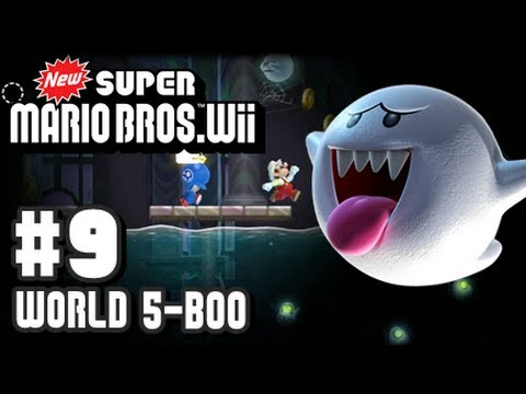 New Super Mario Bros Wii - Part 9 - 5-Boo House