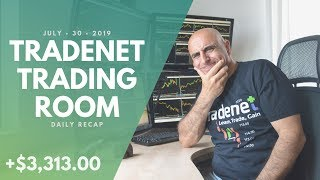 Tradenet Trading Room, July 30: Earned +$3,313.00 At The Mercy Of BYND…