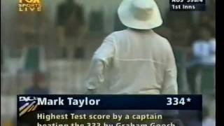Mark Taylor 334* vs Pakistan 2nd test 1998