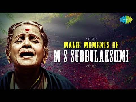 A Magic Moments of M S Subbulakshmi | Carnatic Classical Music...