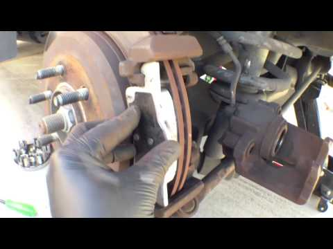 Replace rear brake pads 2004 Ford Expedition