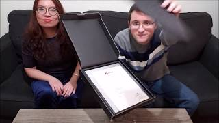 Silver Play Button Unboxing 2019 (with Jackie)