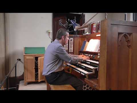 Broken for me, broken for you - St Luke's Church, Chelsea, London (Compton organ)