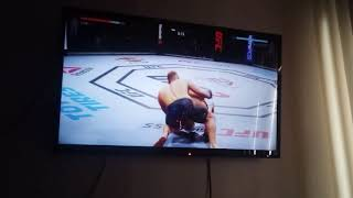 UFC 2 fighting Conor McGregor almost won