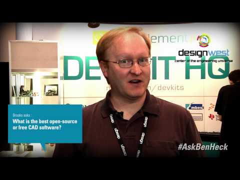 Ask Ben Heck - Best Opensource or Free CAD Software
