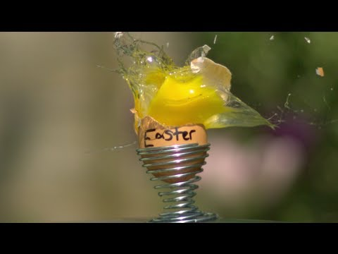 Egg Destruction - The Slow Mo Guys