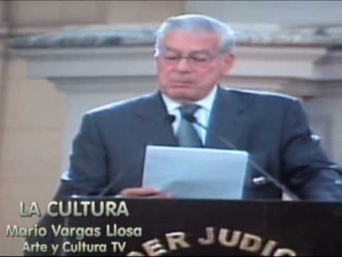 Vargas Llosa, discurso de la Cultura