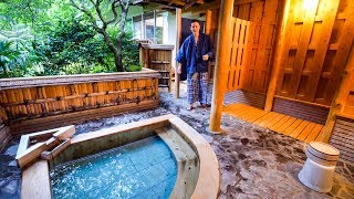 Japanese Ryokan Tour - AMAZING PRIVATE ONSEN in Hakone, Japan | $708.16 Per Night!
