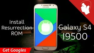 How to Install Resurrection Remix ROM (Android 6.0.1 Marshmallow) on Galaxy S4 I9500