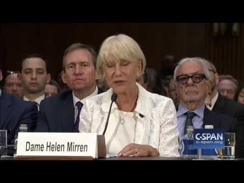 Helen Mirren on Art Restitution (C-SPAN)