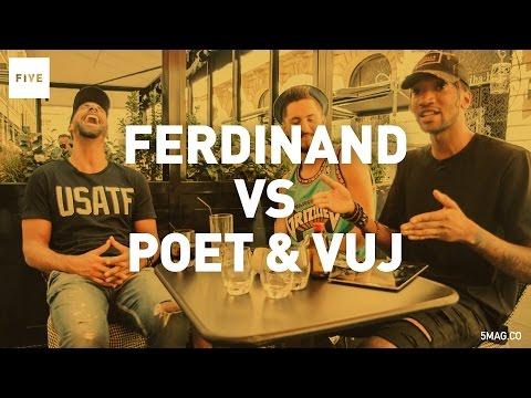 Poet & Vuj Vs Rio Ferdinand | TALKIN' TWO TOUCH