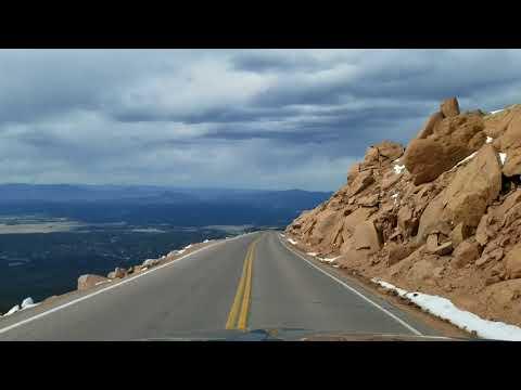 Гора Pikes Peak. Для любителей дорог