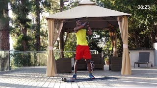 HIIT Workout with weights - TABATA Style HIIT - Lose Weight and Grow Muscle