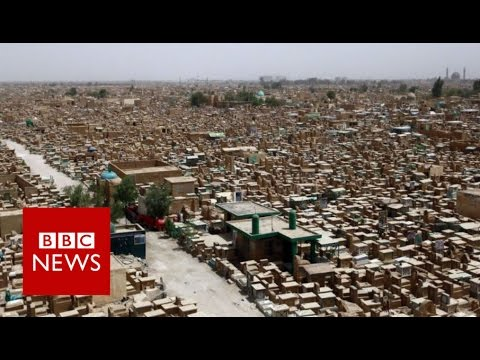 The world's biggest cemetery - BBC News